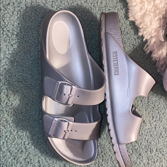Authentic rubber Birkenstock's